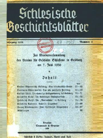 Zdigitalizowane Zasoby Biblioteki Legnickiej